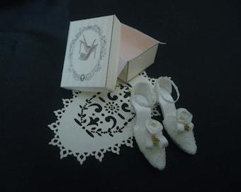 Bridal shoes 1/12th