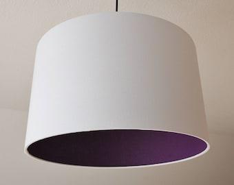 """Lampshade """"Purple-white"""""""