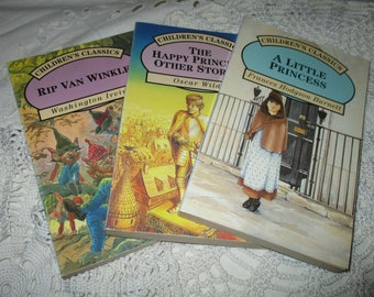 Childrens Classics - A Little Princess - The Happy Prince - Rip Van Winkle