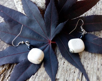 Raku Ceramic Earrings