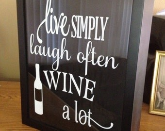 Wine Cork Holder, Shadow Box Cork Holder, 11x14 Cork Frame, Gift Idea, Wine Decor, Wine Box