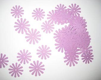 Paper flowers, Purple flowers