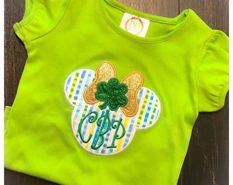 Miss Mouse St. Patrick's Shirt
