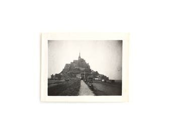 "1930 ""Le Mont-Saint-Michel"" - Authentic Photograph"
