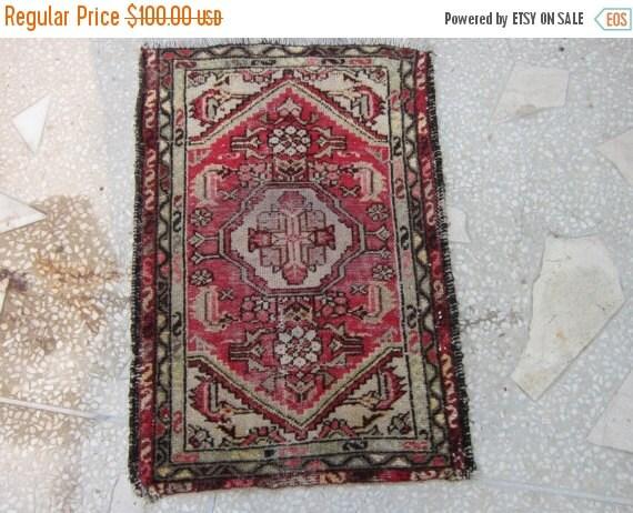 40%OFF SALE2017 58 x 83 Cm Vintage Oriental Worn Small Rug