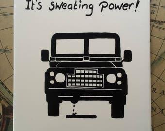 Tile Land Rover
