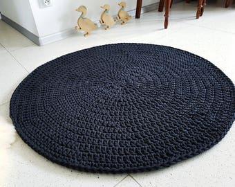Many colors Baby nursery carpet round crochet rond tapis enfant alfombra trapillo hippie shabby teppich rund floor houseware