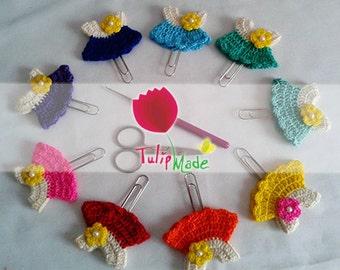 crochet mini dress paper clip