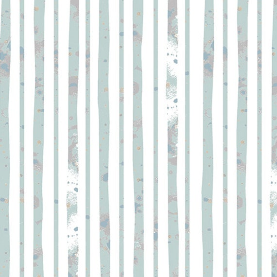 One Yard - Glacier Path Aqua  - BLI-75607  - BLITHE by Katarina Roccella for Art Gallery Fabric - Fabric by the Yard - Art Gallery Fabrics