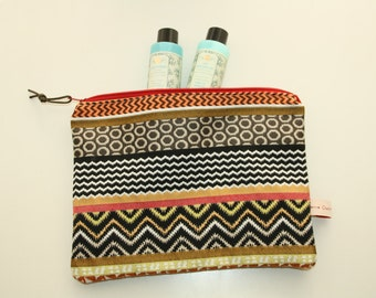 Ethnic Collection, medium size pouch, clutch bag, wallet, make-up bag