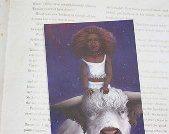 Zodiac sign post card - Taurus