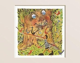 Pinocchio in the wood