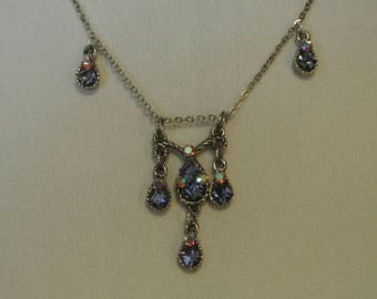A Beautiful Crystal Necklace