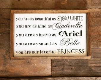 You Are Our Favorite Princess