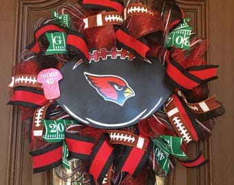 Cardinals Wreath