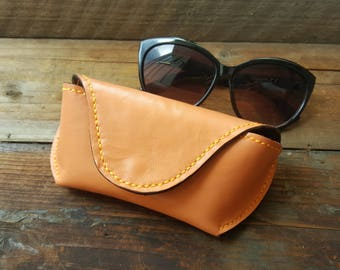 Leather sunglasses case, Sunglasses Case,