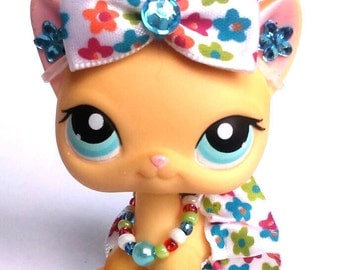Littlest Pet Shop LPS custom clothes outfit accessories lot * cat dog not included
