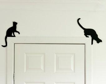 Cat Wall Decor cat decor | etsy