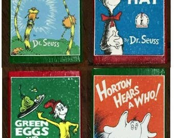 Dr. Seuss Matchboxes - Choice of 1 or full set