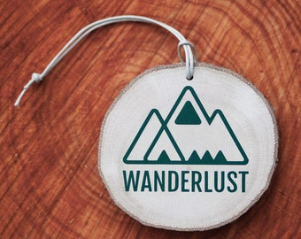 Load disc with print: wanderlust