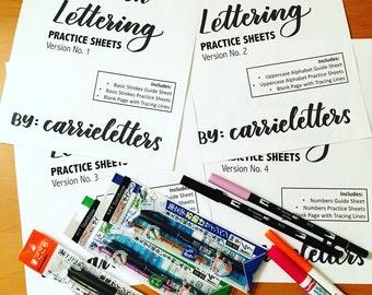 NEW Brush Lettering Calligraphy Starter Kit
