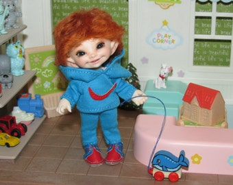 "Stylish outfit ""NIKE""  for  realpuki and dolls of similar size"