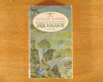The Tolkien Reader, J.R.R. Tolkien, Paperback Fantasy, 1966- (Contact shop to request actual ship cost for multi items)