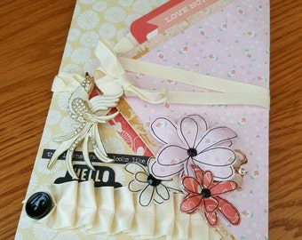Envelope Flip Book Mini Scrapbook Album