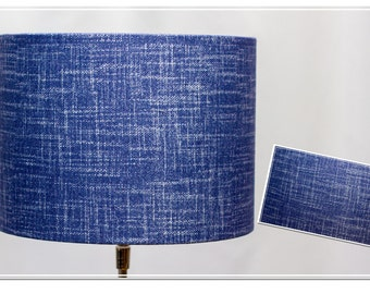Lampshade -blue Scratches-