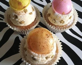 6 Flying Saucer Cupcakes VEGAN, vegan cupcakes, dairy free cupcakes, freefrom cupcakes, vegetarian cupcakes