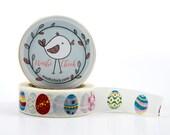 Easter Eggs Washi Tape - colorful eggs