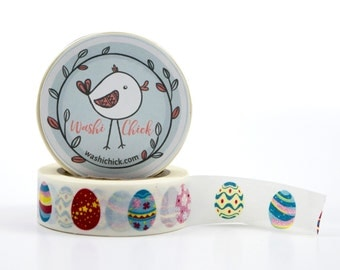 Easter Eggs Washi Tape - colorful eggs