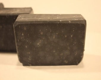 Activated Charcoal Soap, Charcoal Soap, Acne Soap, Acne Face Soap, Face Soap, Homemade Soap, Facial Soap, Bar Soap, Natural Acne Soap