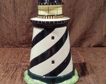 Coastal Breeze Lighthouse Cookie Jar, free shipping