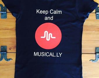 Musical.ly kids shirt