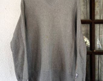 Vintage X Girl Sweatshirt Grey Colour Made in Japan