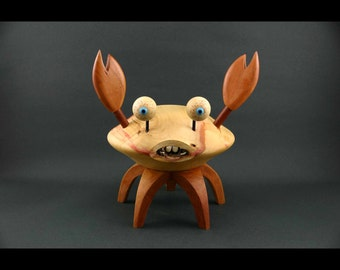 Buck Tooth Crab