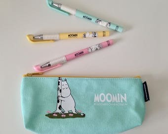 Moomins candy colour cute kawaii kitsch pencil case/make up bag
