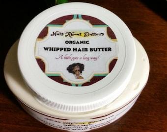 Organic whipped HAIR butter