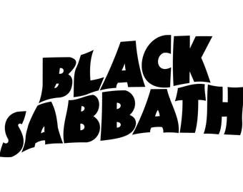 Black Sabbath Decal