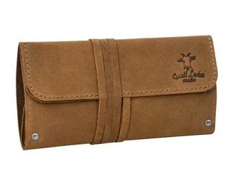 Gusti leather 'Janet' pipe tobacco bag Leno bag