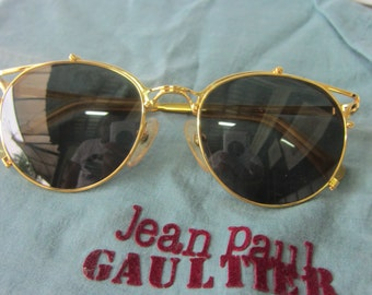 Jean Paul Gaultier sunglasses vintage 80s steampunk made in japan