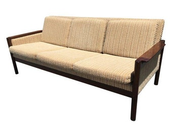 Mid Century Danish Modern Rosewood Sofa