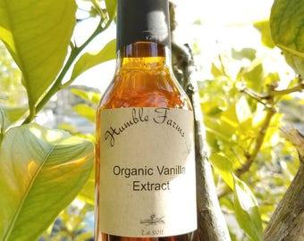 Organic Vanilla Extract 5 OZ