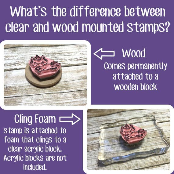 Sloth Rubber Stamp Hand Carved Stamp Animal From