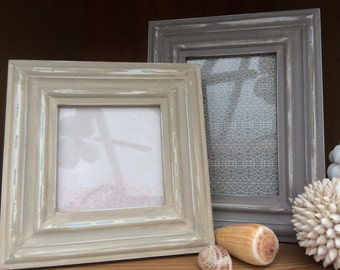 picture frame square frame rectangle picture frame painted picture frames shabby chic country charm