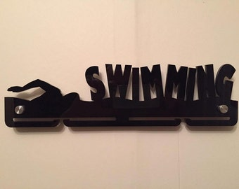 Acrylic Swimming Medal hanger