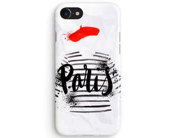 Paris french stripes - iPhone 7 case, Samsung Galaxy S7 case, iPhone 6, iPhone 7 plus, iPhone SE, iPhone 5S, 1C049A