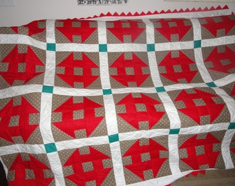 Hand Pieced and Hand Sewn Quilt