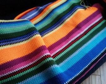Crochet Mexican Blanket